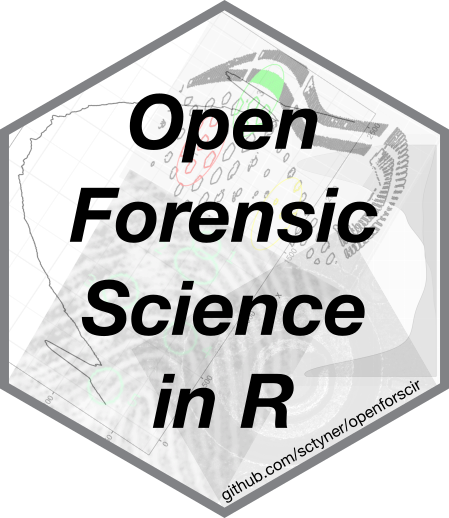 Open Forensic Science in R